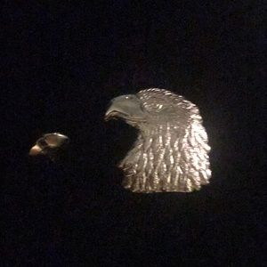 Eagle concho for belt